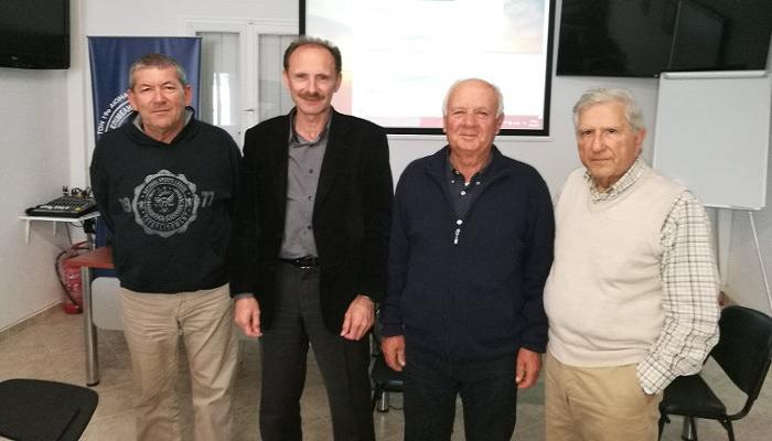 Συναντήσεις του Επιμελητηρίου Κυκλάδων με φορείς και επιχειρηματίες στη Μήλο.